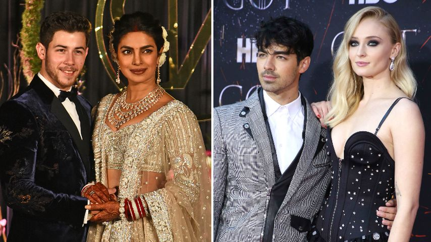Indien vs. Vegas: So unterschiedlich waren Jonas-Hochzeiten