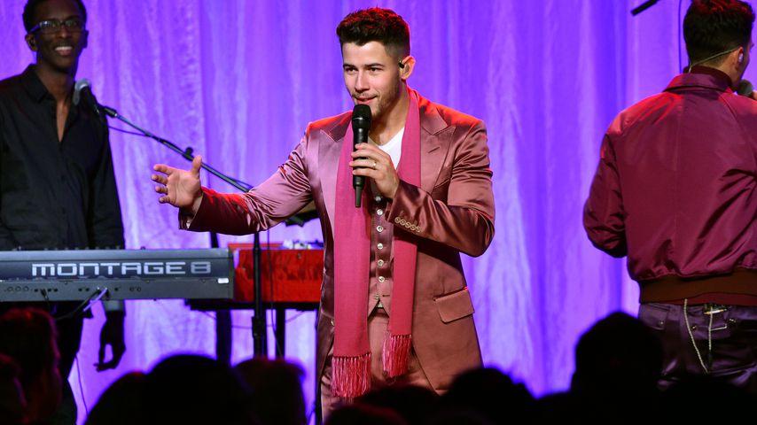Nick Jonas auf einem Event in Beverly Hills im Februar 2020