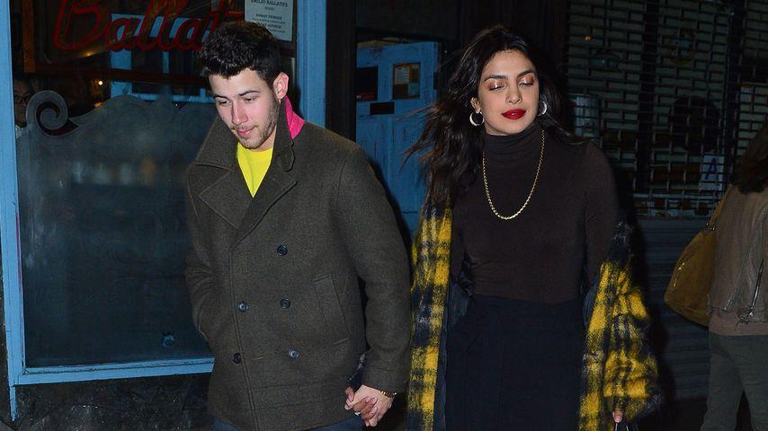 Nick Jonas und Priyanka Chopra, Oktober 2018