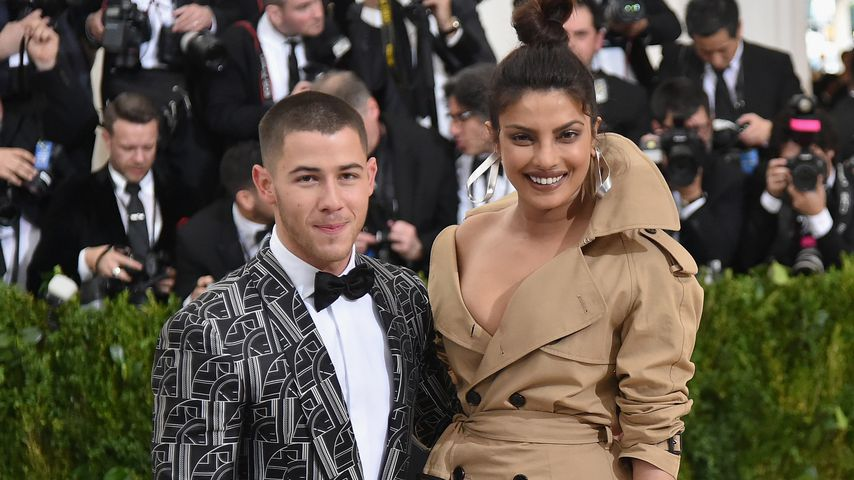 Nick Jonas und Priyanka Chopra bei einer Gala in New York City 2017