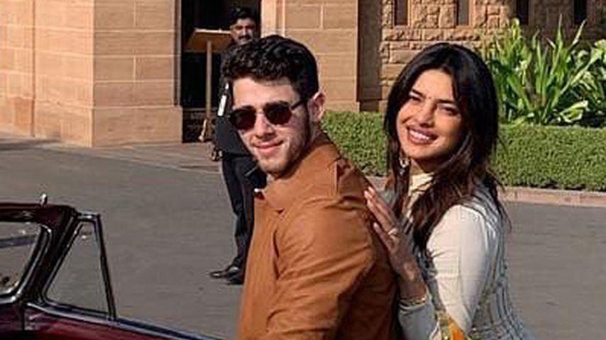 Auf Instagram umbenannt: Priyanka heißt jetzt Chopra Jonas