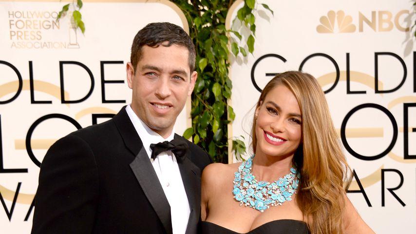 Nick Loeb und Sofia Vergara bei den Golden Globes, 2014