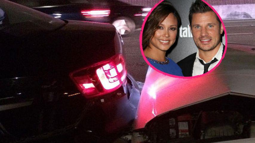 Nick & Vanessa Lachey: Autounfall mit Mietwagen!