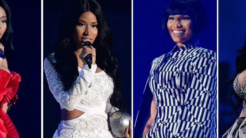 MTV EMA-Wahnsinn: Nicki Minaj trug ganze 8 Outfits