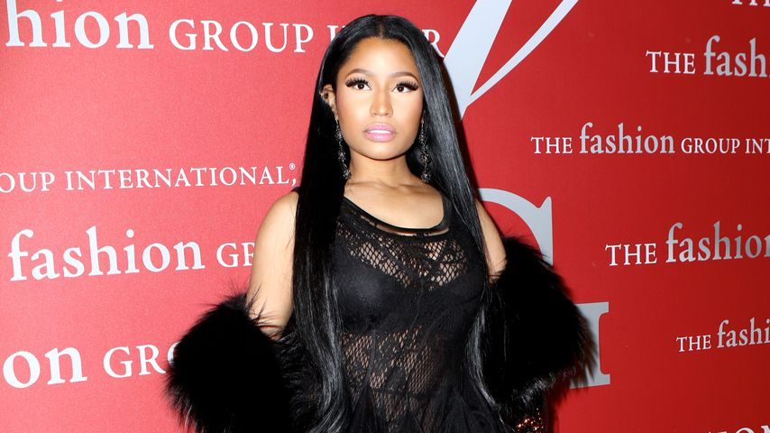 Nicki Minaj bei der International Night of Stars Gala in New York