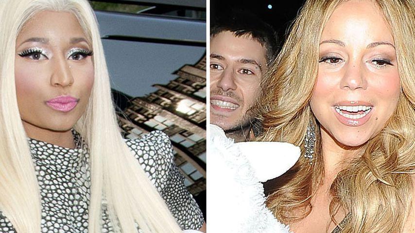 Mariah Carey und Nicki Minaj