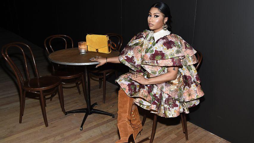 Nicki Minaj auf der Fashion Week in NYC im Februar 2020