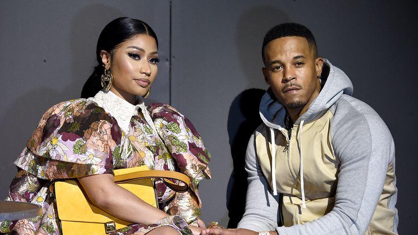Nicki Minaj und ihr Ehemann Kenneth Petty