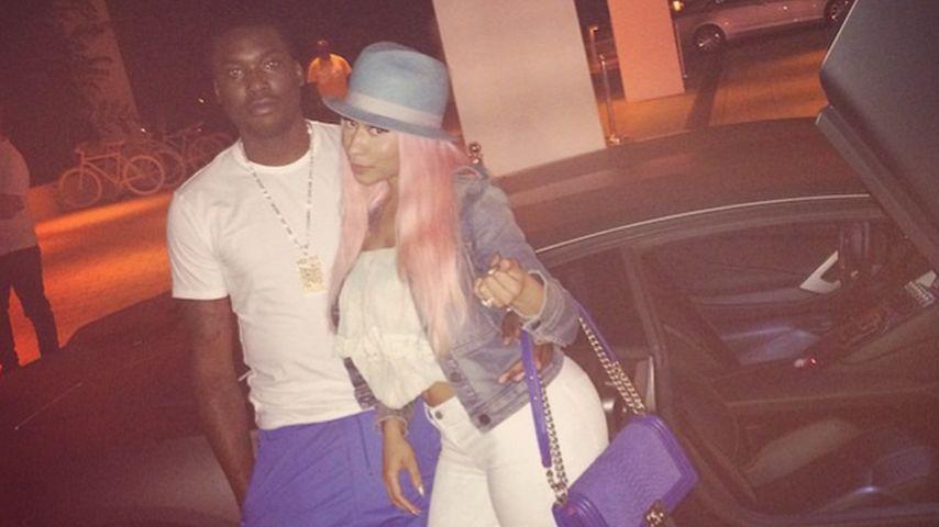 Gerade erst verlobt: Blitzhochzeit bei Nicki Minaj?
