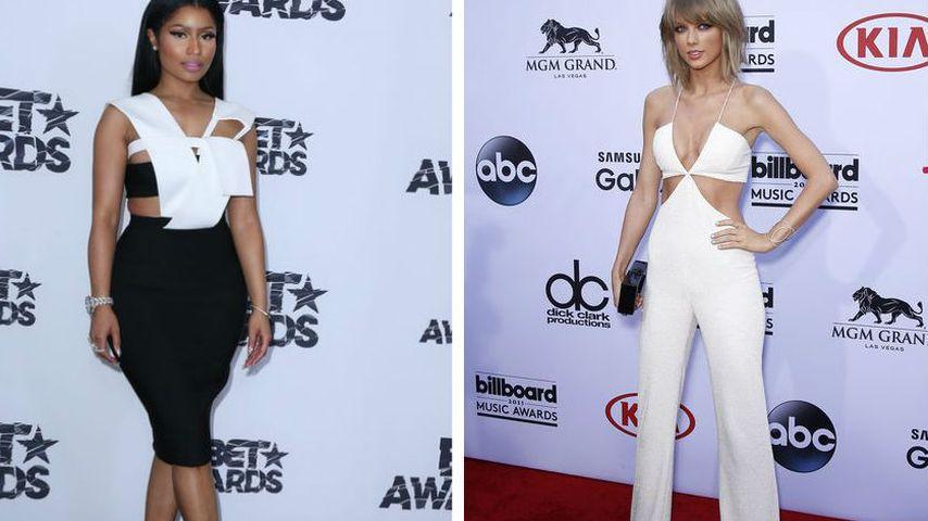 Nicky Minaj ist sauer: Twitter-Beef mit Taylor Swift