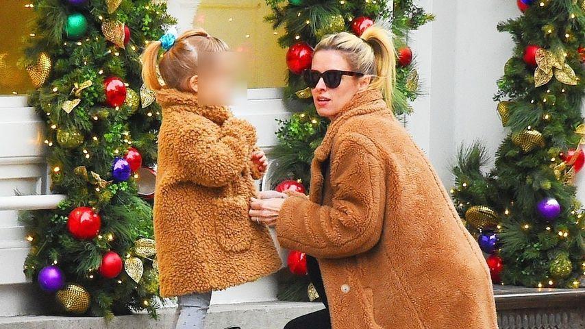 Nicky Hilton mit ihrer Tochter Teddy im Januar 2020