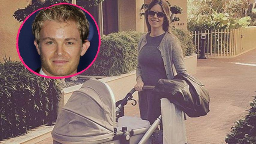 Stolzer Ehemann & Papa: So ehrt Nico Rosberg seine Mädels