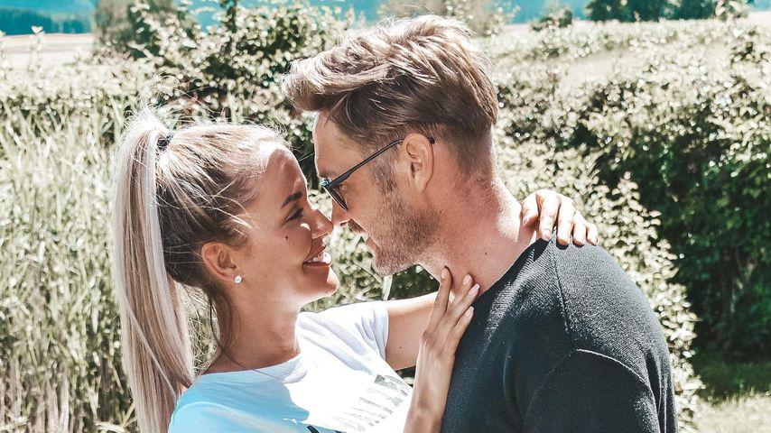 Nico Schwanz mit seiner Freundin Julia Prokopy