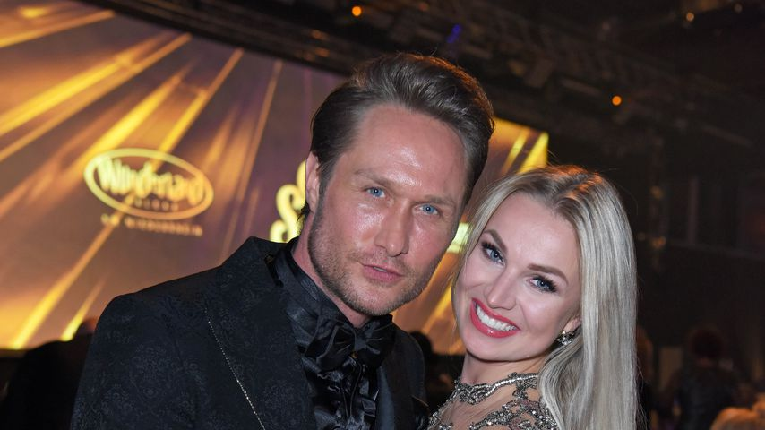 Nico Schwanz und Katja Kalugina im April 2019