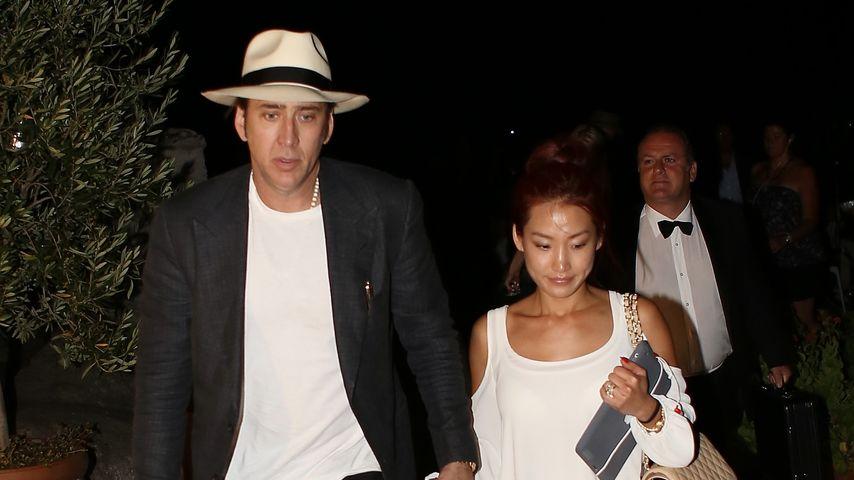 Nicolas Cage und Alice Kim auf Ischia