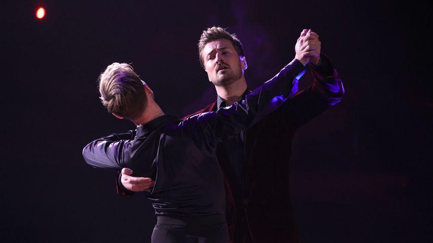 """Nicolas Puschmann und Vadim Garbuzov bei """"Let´s Dance"""", 2021"""