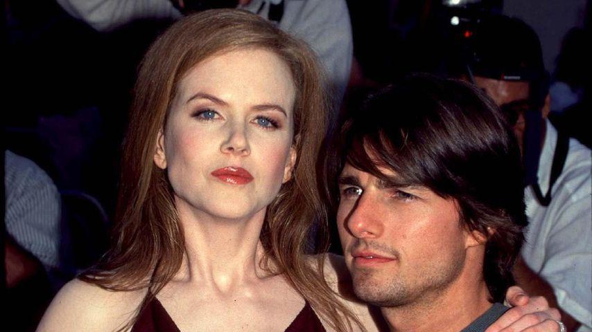 Nicole Kidman und Tom Cruise im Jahr 1999 bei einer Filmpremiere