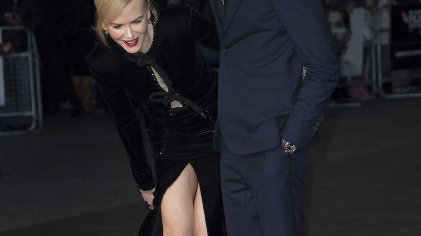 Kleider-Kampf: Nicole Kidman muss Höschen-Blitzer verhindern