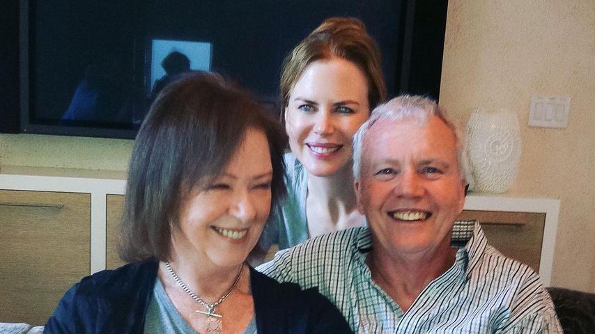 Nicole Kidman mit ihren Eltern