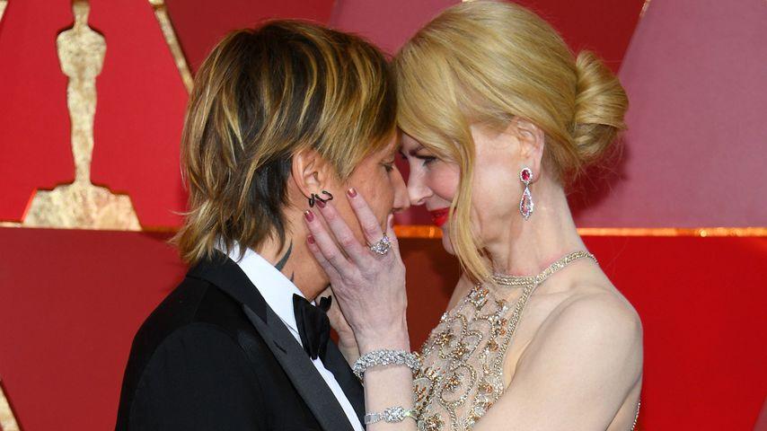 Keith Urban und Nicole Kidman bei der 89. Oscar-Verleihung
