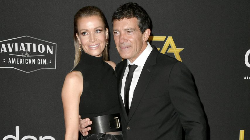 Nicole Kimpel und Antonio Banderas bei den Hollywood Film Awards 2019