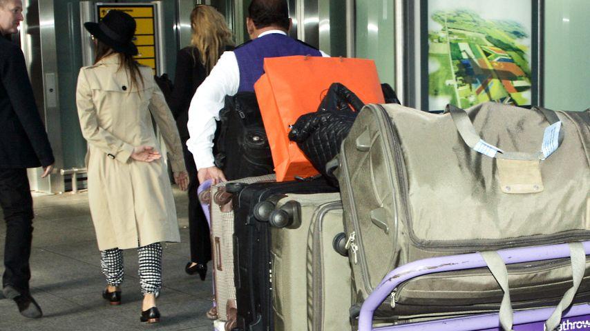 XXL-Gepäck: Wer reist denn hier so schwer beladen?