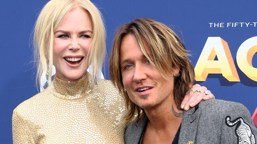 Nicole Kidman und Keith Urban bei den Country Music Awards 2018