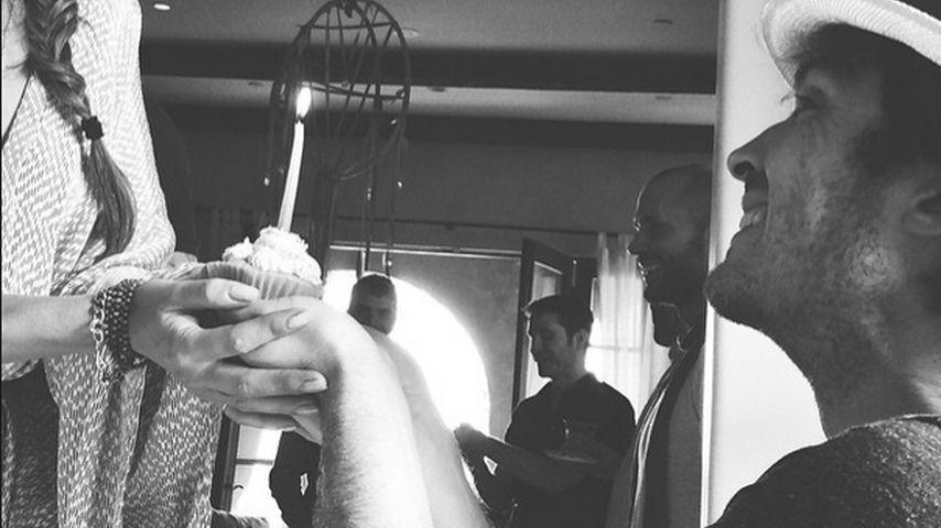 Ian Somerhalder: Ein Geburtstags-Törtchen für seine Nikki!