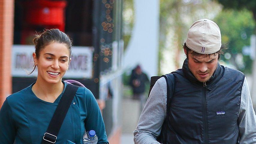 Nikki Reed & Ian Somerhalder im Freizeit-Look