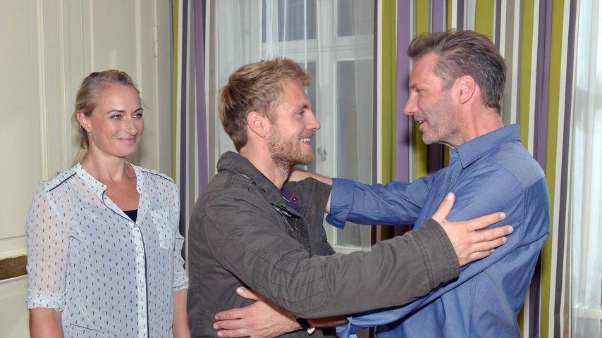 Niklas Osterloh (m.) bei GZSZ