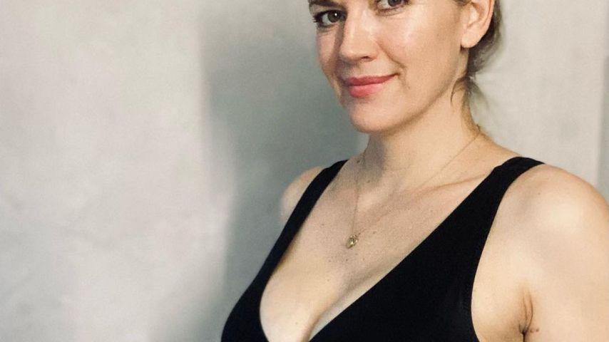 Nina Bott in der 28. Schwangerschaftswoche