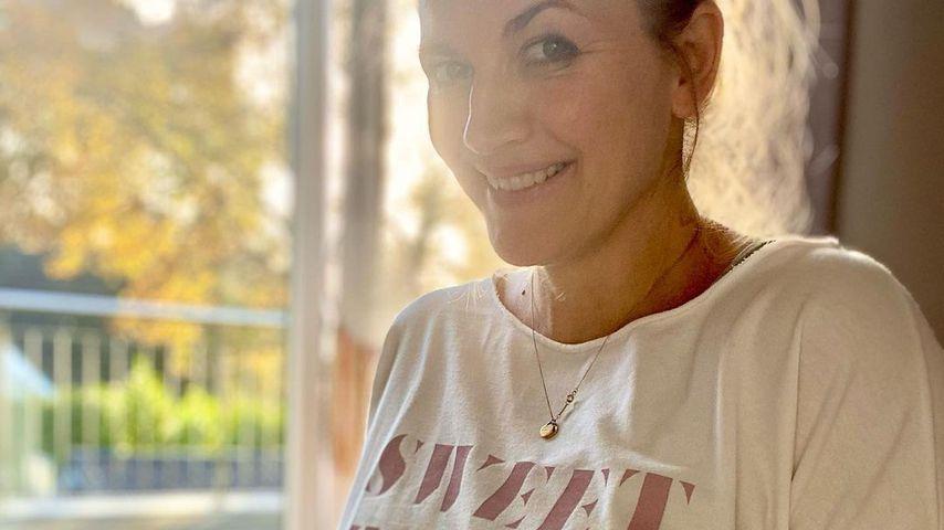 Nina Bott in Hamburg im November 2020