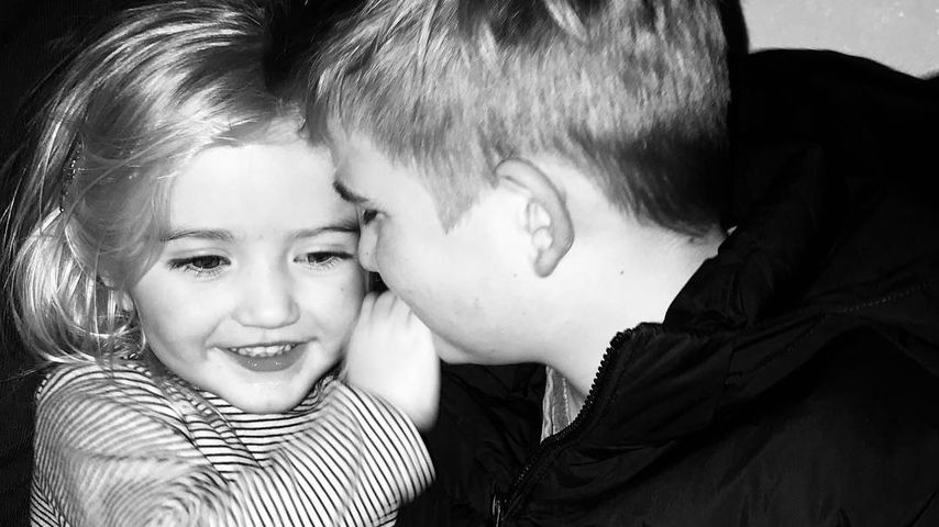 Nina Botts Kinder Luna und Lennox, Januar 2019