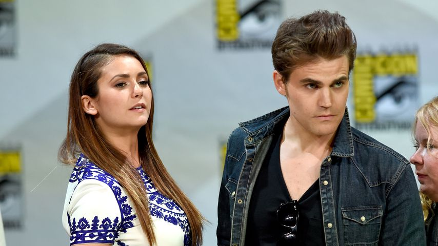 Nina Dobrev und Paul Wesley auf der Comic-Con International in San Diego, 2014