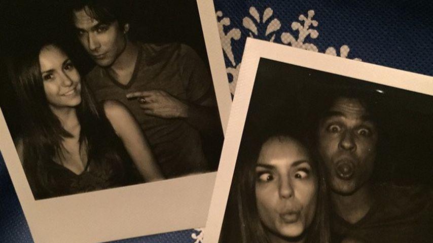 "Nina Dobrev: Letzter ""Vampire Diaries""-Tag mit Ian in Liebe"