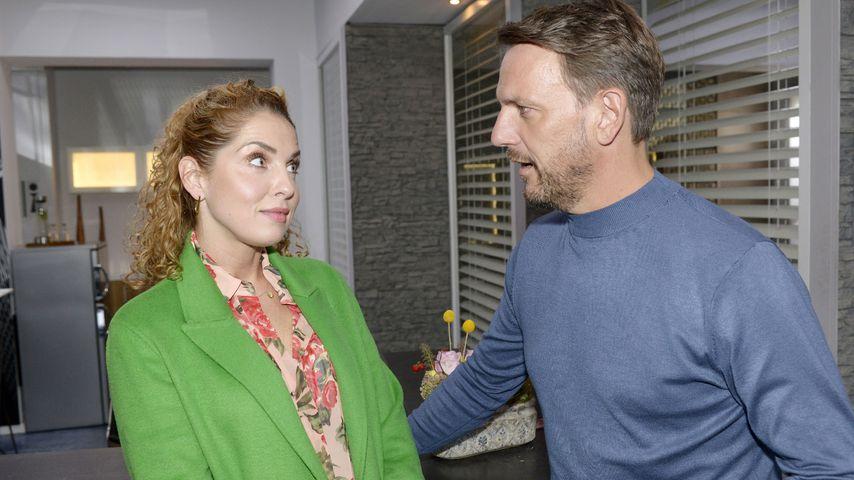 Nina (Maria Wedig) und Robert (Nils Schulz) bei GZSZ
