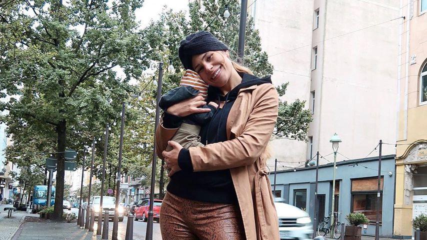 Erster Abend ohne Baby: Neu-Mama Nina Noel hält es kaum aus