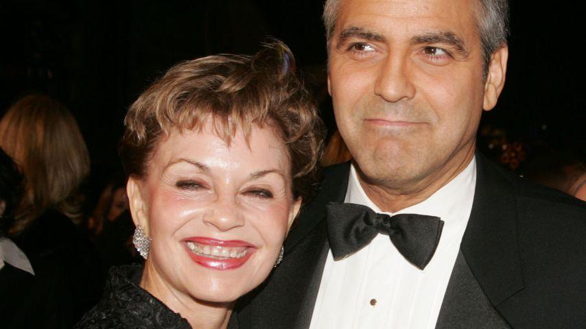 George Clooneys Mutter schwärmt von Verlobter Amal