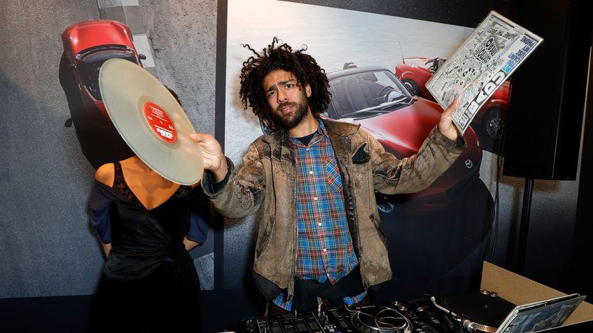 """Noah Becker beim """"Mazda"""" Pop Up-Store in Düsseldorf"""