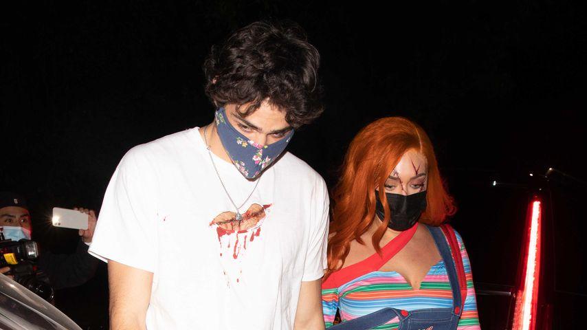 Noah Centineo und Anastasia Karanikolaou im Oktober 2020