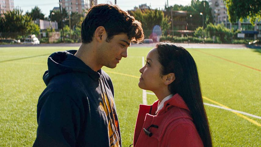 "Noah Centineo und Lana Condor in ""To All the Boys I've Loved Before"""