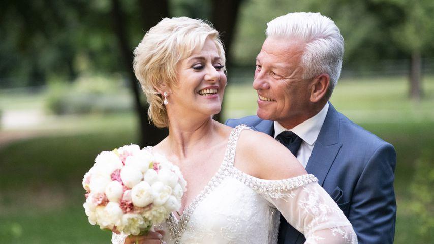 """Wiebke und Norbert, """"Hochzeit auf den ersten Blick""""-Paar"""
