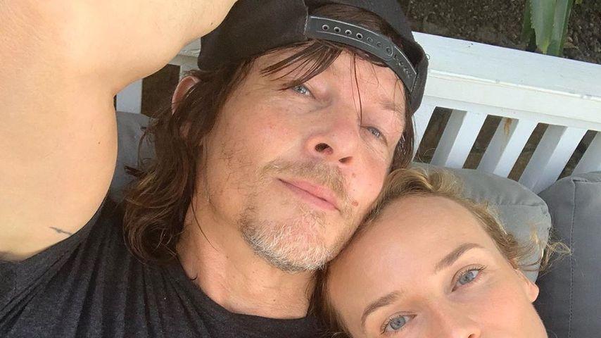 Zu Thanksgiving: Diane Kruger postet Paar-Selfie mit Norman!