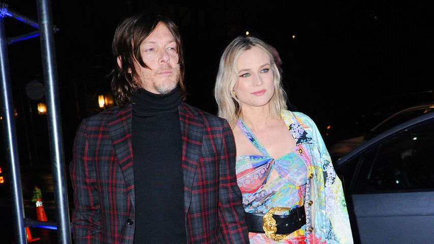 Norman Reedus und Diane Kruger in New York