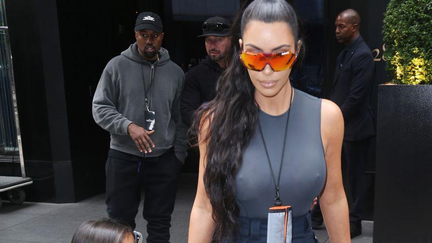 Norths geglättete Haare: Kim Kardashian verteidigt sich