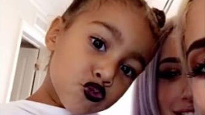 Zu früh? Kylie Jenner bemalt North West (3) mit Lippenstift!
