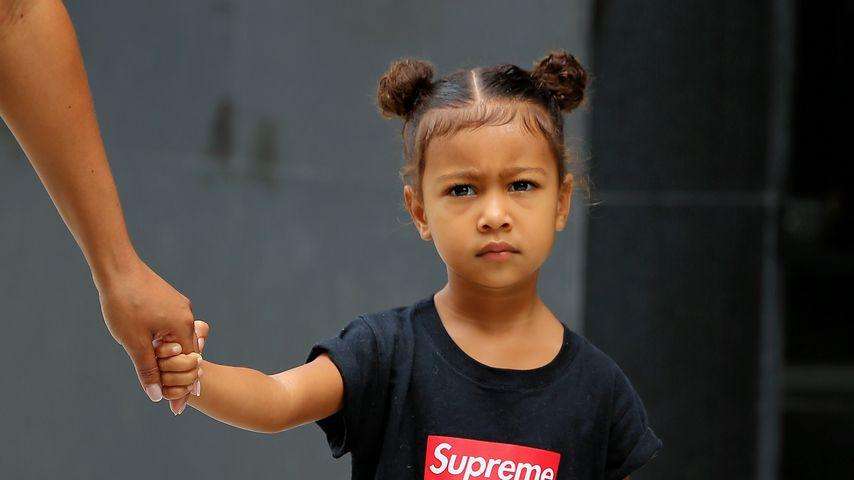 Wie Papa Kanye: Tochter North West sagt immer, was sie denkt