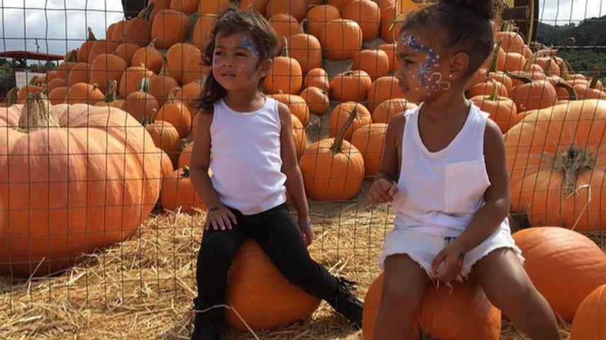 Für Halloween: North West bereitet sich auf Gruselnacht vor