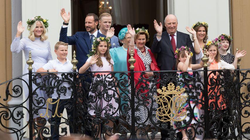 Norwegische Royals beim Royal Silver Jubiläum in Trondheim