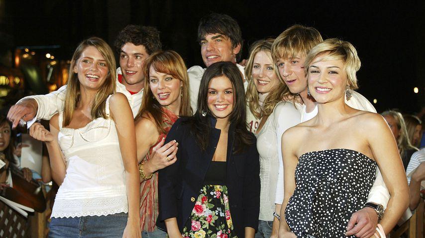 """O.C. California""-Cast in Kalifornien 2003"